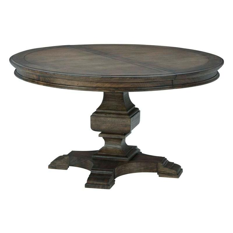 25421 Wellington Estates Round Pedestal Dining Table