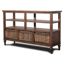 3-Basket Entertainment Center