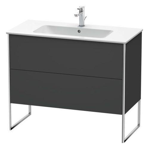 Duravit - Vanity Unit Floorstanding, Graphite Matte (decor)