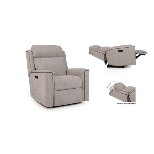 Smith Brothers Furniture - Motorized Reclining Chair / Headrest