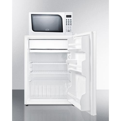 Microwave/refrigerator-freezer Combination