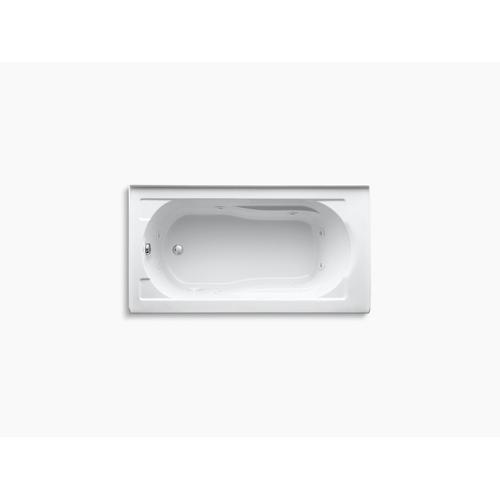 """Dune 60"""" X 32"""" Alcove Whirlpool With Integral Apron and Left-hand Drain"""