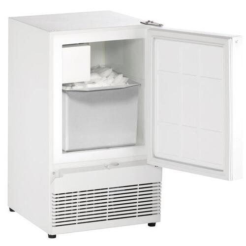 "15"" Crescent Ice Maker With White Solid Finish (115 V/60 Hz Volts /60 Hz Hz)"