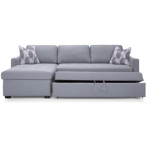 M2086-56 RHF Double Bed