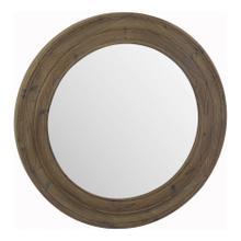 Porthole Mirror Brown