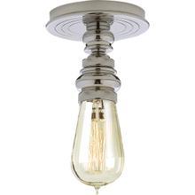 E. F. Chapman Boston 1 Light 6 inch Polished Nickel Flush Mount Ceiling Light