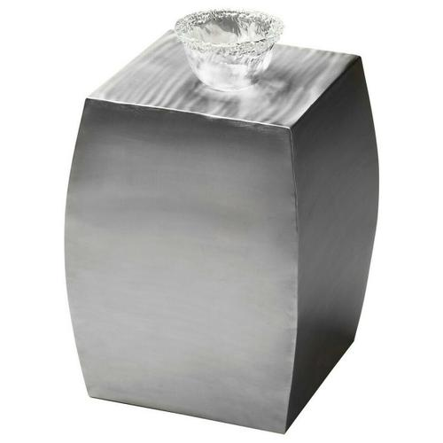 Butler Specialty Company - Its impeccably elliptical sides and shimmering stainless steel finish guarantee this accent table will stand out as special, even in the best furnished rooms. Crafted entirely from stainless steel, it is versatile- functioning as an individual table, in multiples, in front of a sofa, as a bunching table or even as a stool.