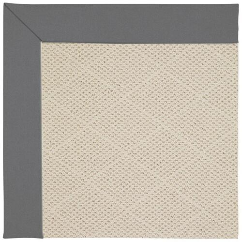"Creative Concepts-White Wicker Canvas Charcoal - Rectangle - 24"" x 36"""
