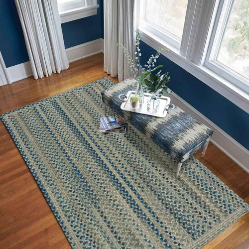 Gallery - Fusion Blue Taupe - Oval - 5' x 8'