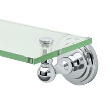 See Details - Marina Glass Shelf in Chrome