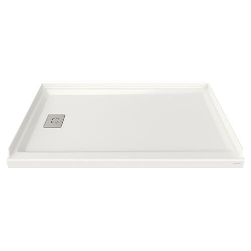 Studio 60x36-inch Acrylic Shower Base - Left Side Drain  American Standard - White