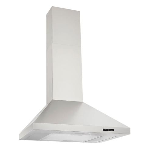 Broan® 24-Inch Convertible Wall-Mount Chimney Range Hood, 400 CFM, Stainless Steel