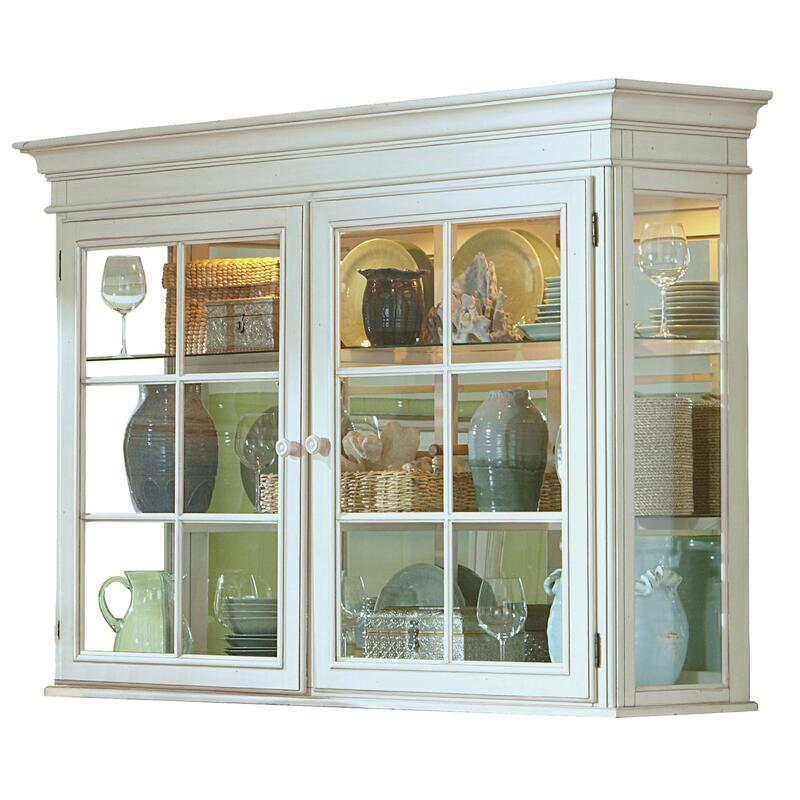 See Details - Pine Island Hutch - Old White