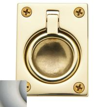 View Product - Satin Nickel Flush Ring Pull