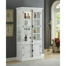 ACME Iovius Curio Cabinet - 90300 - White