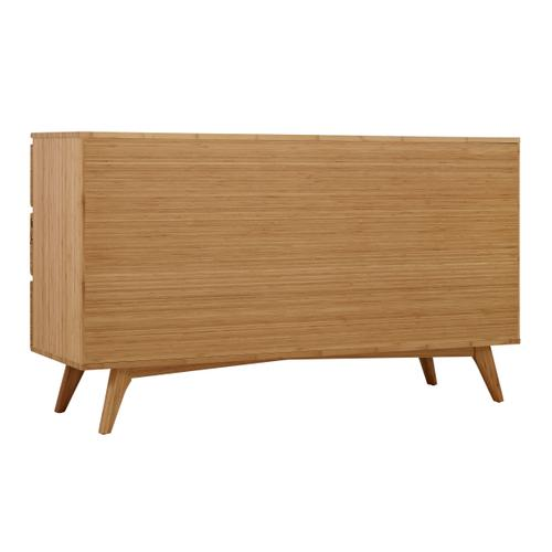 Azara Six Drawer Dresser, Caramelized
