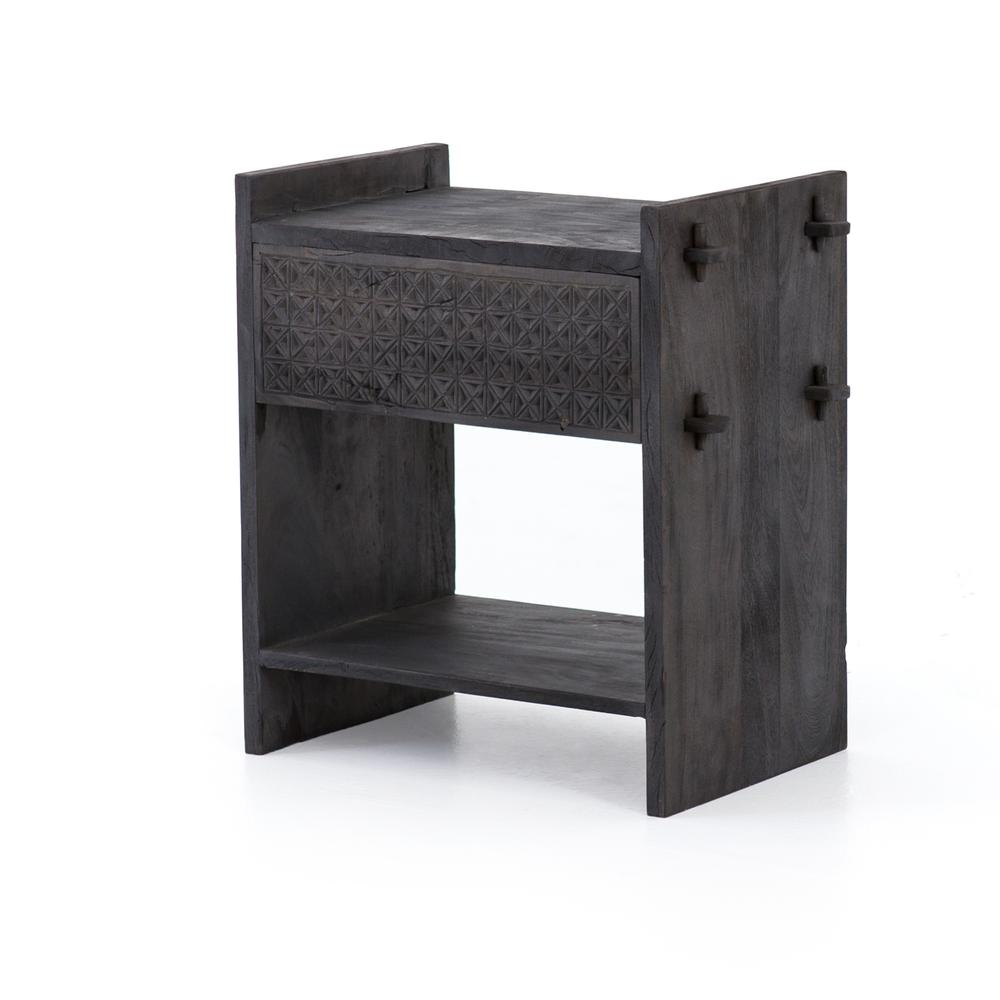 Dark Totem Finish Columbus Nightstand