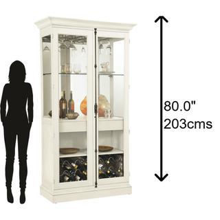 690-042 Socialize II Wine & Bar Cabinet