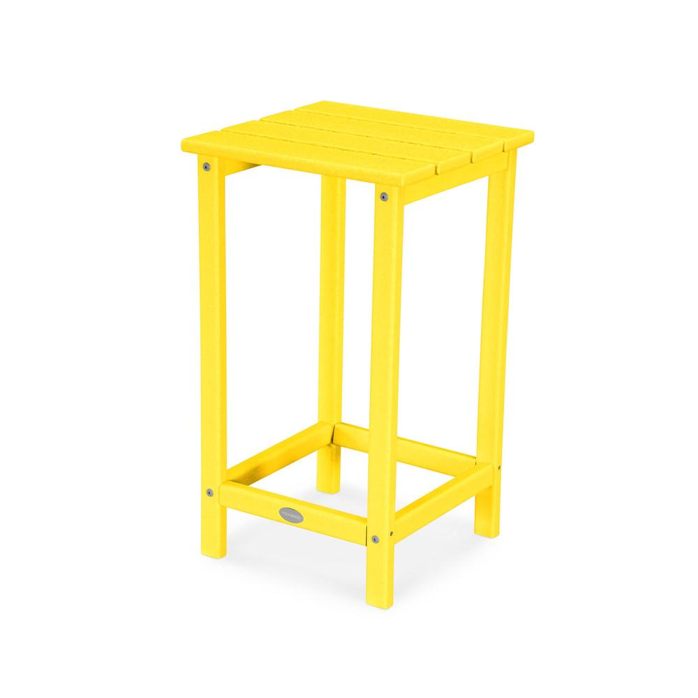 "Lemon Long Island 26"" Counter Side Table"