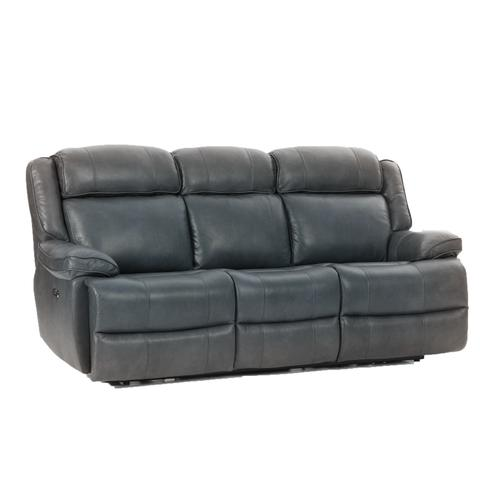 Avalon Dual Power Reclining Sofa  Smoke