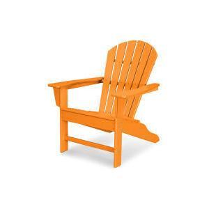 Polywood Furnishings - South Beach Adirondack in Tangerine
