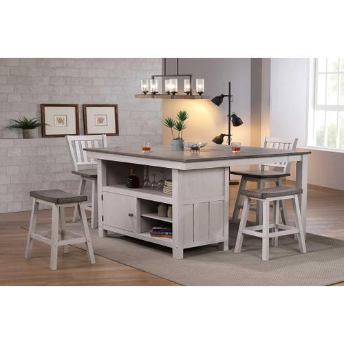 "All Wood Furniture - Table: 5000 : 54x36x54 - 36"" H - 1 - 18"" Leaf"