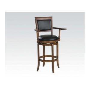 Acme Furniture Inc - Oak Bar Chair W/swivel