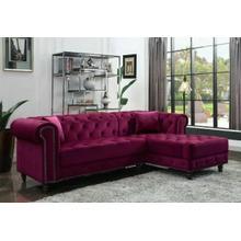 ACME Sectional Sofa w/2 Pillows - 57315