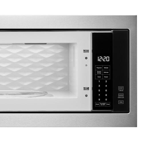 "1.1 cu. ft. Built-In Microwave with Slim Trim Kit - 14"" Height"
