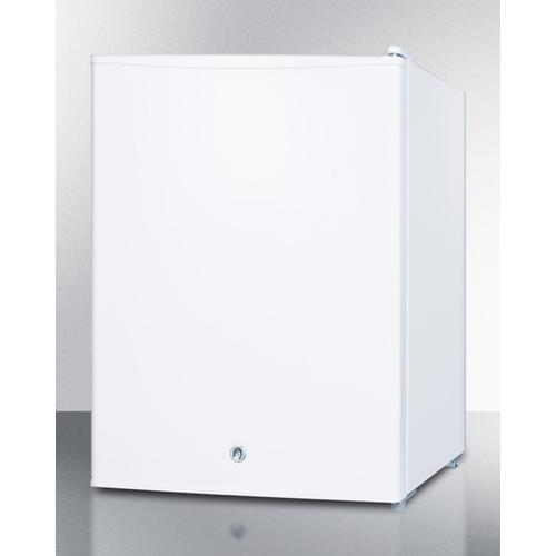 Summit - Compact Manual Defrost All-freezer for Medical/general Purpose Use, With Lock and Reversible Door