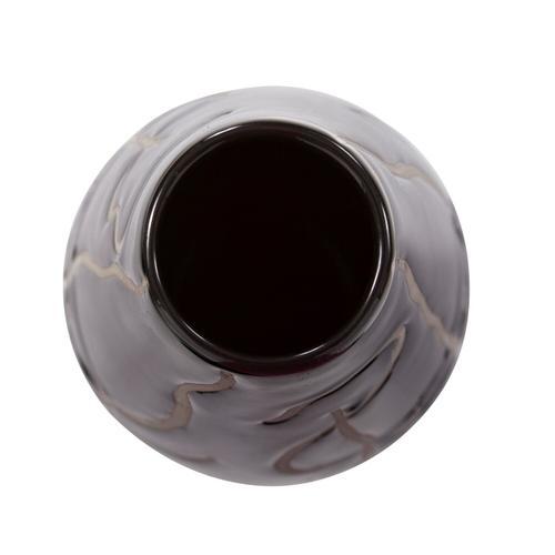 Howard Elliott - Scribbled Ceramic Vase, Oversize