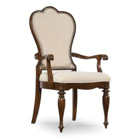 Dining Room Leesburg Upholstered Arm Chair - 2 per carton/price ea