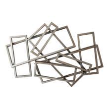 Metal Rectangles Wall Décor