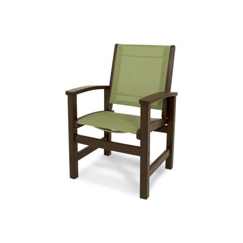 Mahogany & Kiwi Coastal Dining Chair
