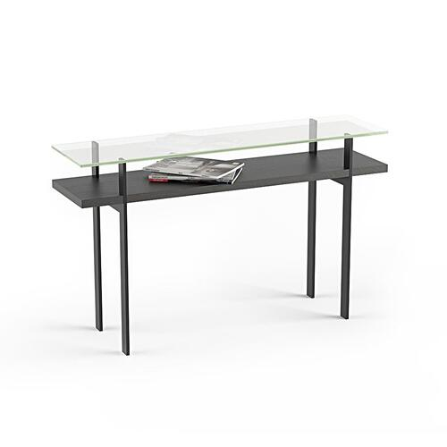 Console Table 1153 in Charcoal Stained Ash
