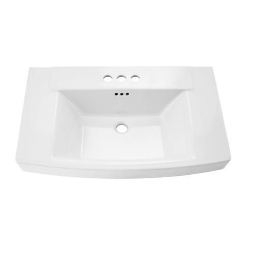 Townsend pedestal sink top  American Standard - White