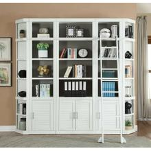 CATALINA 6 Piece Library Wall with Ladder