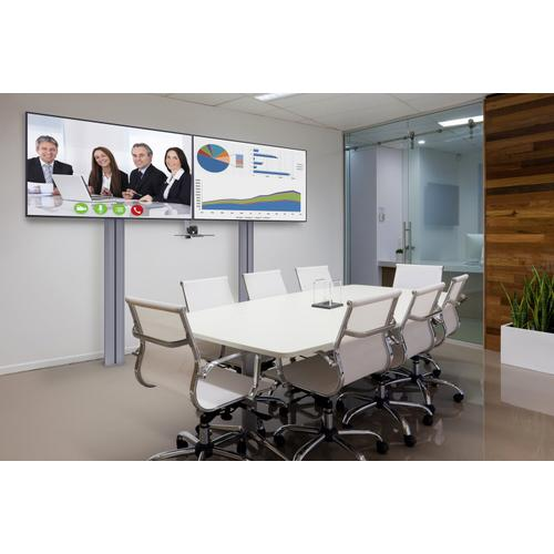 """Video Conferencing Solution for 55"""" to 80"""" Displays"""
