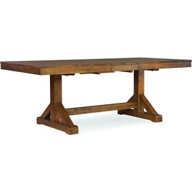 Canyon Extension Top Table in Pecan