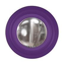 View Product - Soho Mirror - Glossy Royal Purple