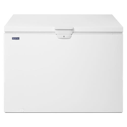 15 cu. ft. Chest Freezer with Door Lock White