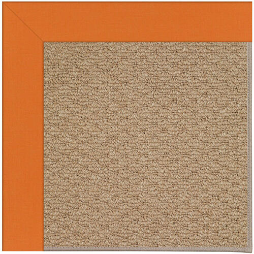 Creative Concepts-Raffia Canvas Tangerine Machine Tufted Rugs