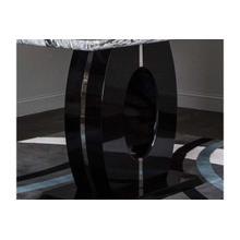 Dyane-blk/chrome Pub Column
