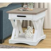 AMERICANA MODERN - COTTON End Table Product Image