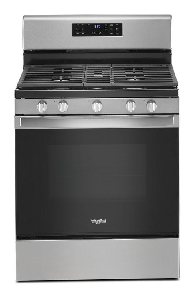 Whirlpool5.0 Cu. Ft. Gas Convection Oven With Fan Convection Cooking