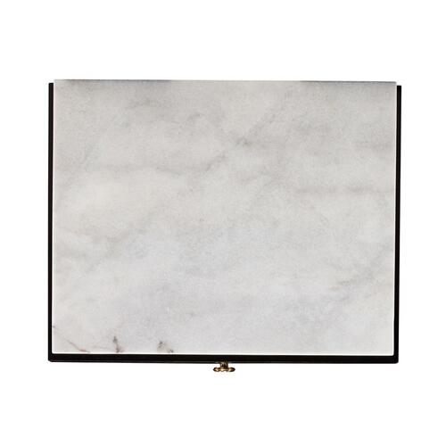 Hickory White - Luxor Nightstand - Stone Top