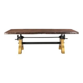 Dunedin Adjustable Live Edge Dining Table