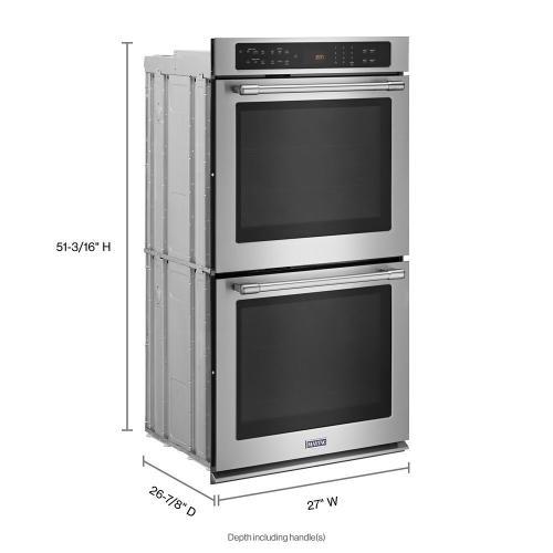 Gallery - 27-Inch Wide Double Wall Oven With True Convection - 8.6 Cu. Ft.