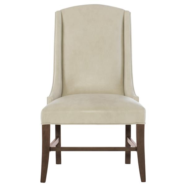 Slope Leather Arm Chair