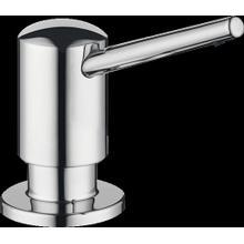 See Details - Chrome Soap Dispenser, Contemporary